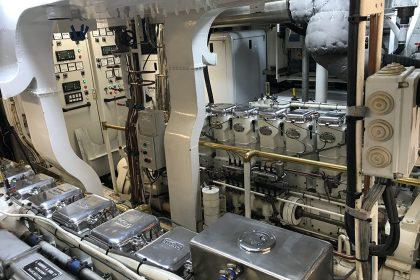 MY Cassiopeia - 8L3B Twin Gardner Diesel Engines