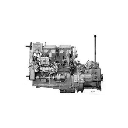 Gardner Diesel Engine – 4LW