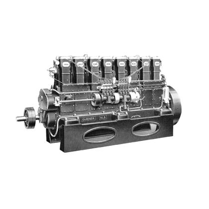 Gardner Diesel Engine – 8L3