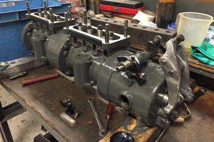 MY Camara C - 8L3B Twin Gardner Diesel Engines
