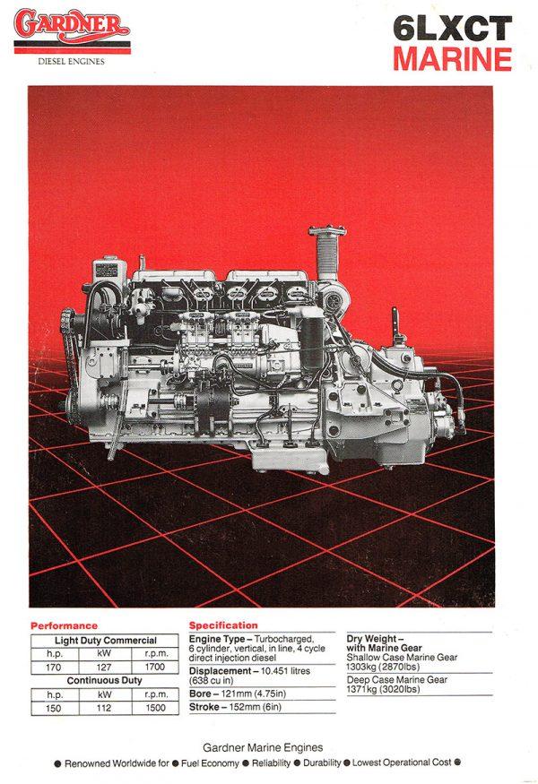 Gardner Marine Diesels - Gardner & Sons History